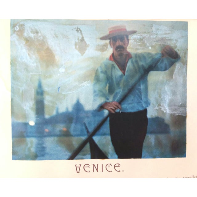"""""""Venice, 1889"""" Illustrated Hardcover Book For Sale - Image 9 of 12"""