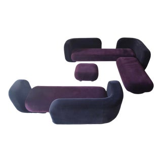 Modular Sofa Suite Designed by Tom Dixon for English Manufacturer George Smith For Sale