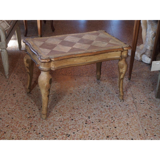 Paint Small 19th Century Italian Side Table For Sale - Image 7 of 7