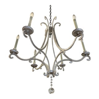 Visual Comfort Chc1550 E. F. Chapman Oslo 6 Light Chandelier For Sale
