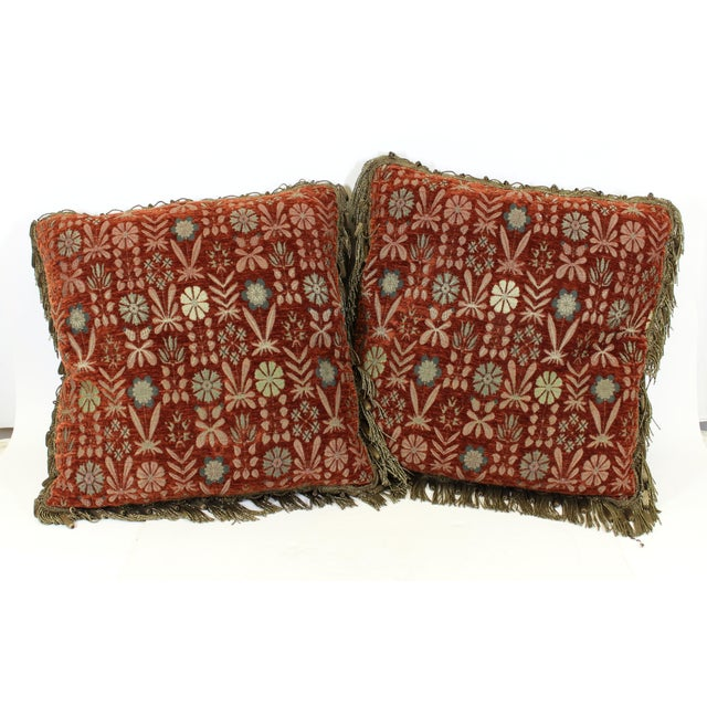 Tapestry Drawing Room Pillows For Sale - Image 9 of 9
