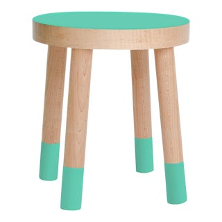 Poco Kids Chair in Maple With Mint Finish For Sale