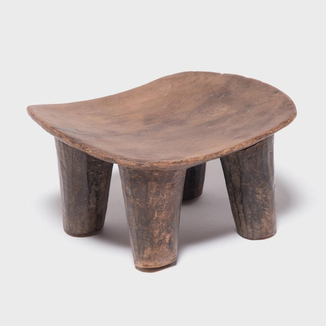 Low Senufo Stool For Sale - Image 4 of 6