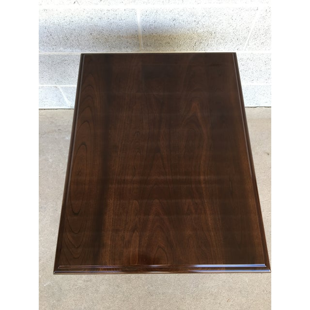 Stickley Stickley Cherry Valley Queen Anne Style Side Table For Sale - Image 4 of 9