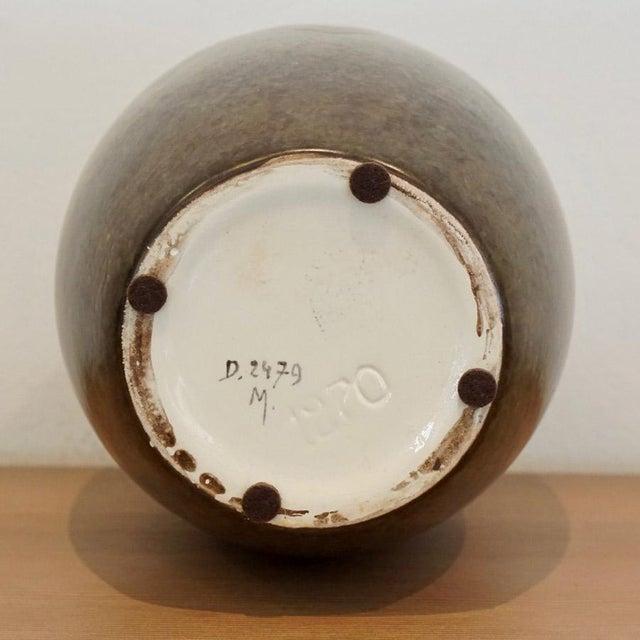 Metal 1920s Boch Freres Vase For Sale - Image 7 of 8