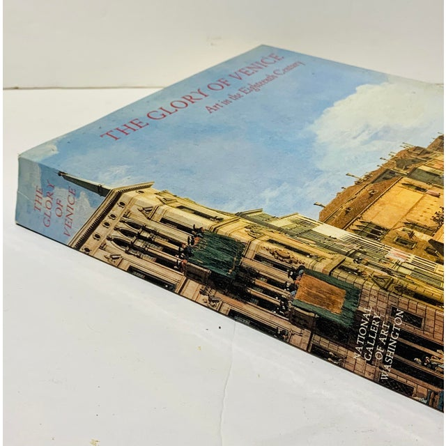 Lovely large format art book on all the wonders of the Glory of Venice and Art in the Eighteenth Century. Feel like you...