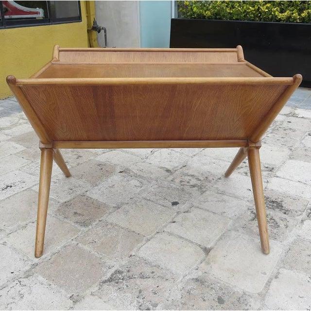 t.h. Robsjohn-Gibbings Magazine Table Widdicomb For Sale - Image 5 of 7