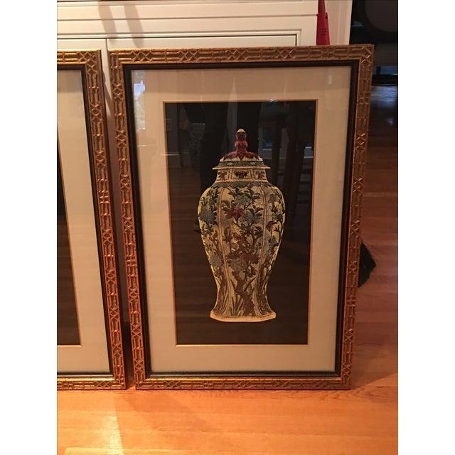 Framed Ginger Jar Prints - A Pair - Image 4 of 9