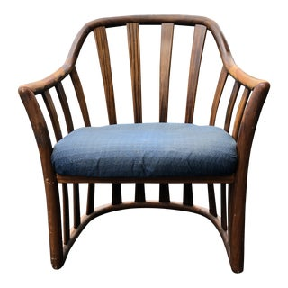 Mid Century Edward Wormley for Drexel Rosewood Club Chair For Sale