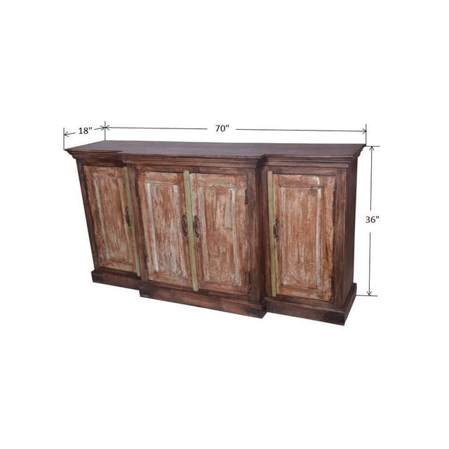 Early 21st Century Vintage Hugh Sideboard For Sale In Dallas - Image 6 of 6