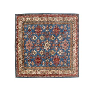 """Persian Leon Banilivi Square Khotan Wool Carpet - 8'1"""" X 8'1"""""""