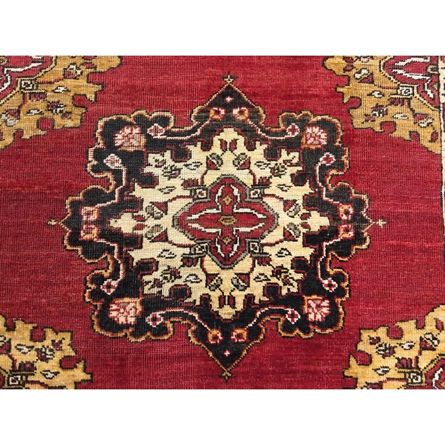 Turkish Oushak Runner - 5' x 13' - Image 4 of 10