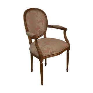 Ethan Allen French Louis XVI Style Armchair For Sale
