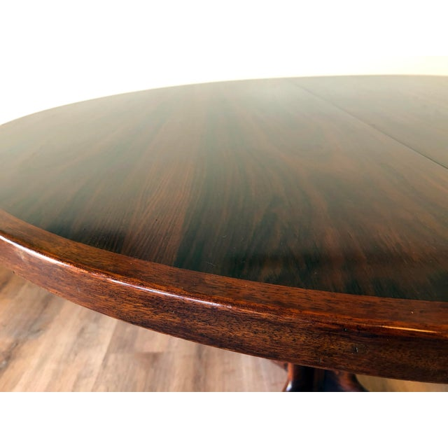 Wood Gudme Mobelfabric Danish MCM Rosewood Dining Table With 2 Leaves For Sale - Image 7 of 13