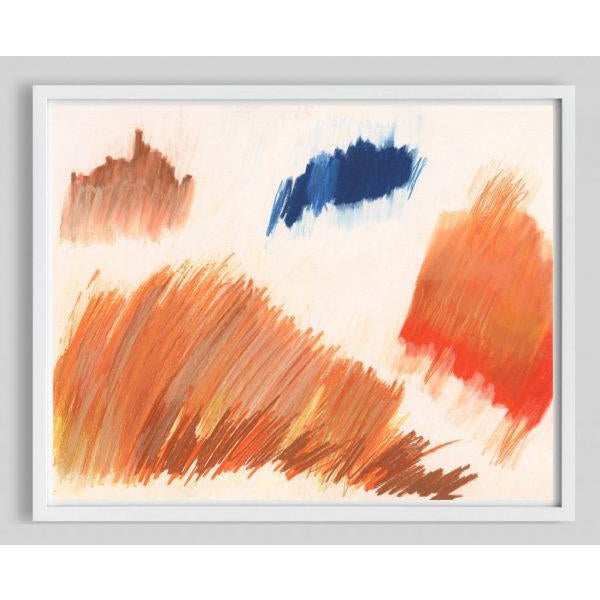 """Contemporary """"Color Falls (Diptych #1)"""" Unframed Print For Sale - Image 3 of 4"""
