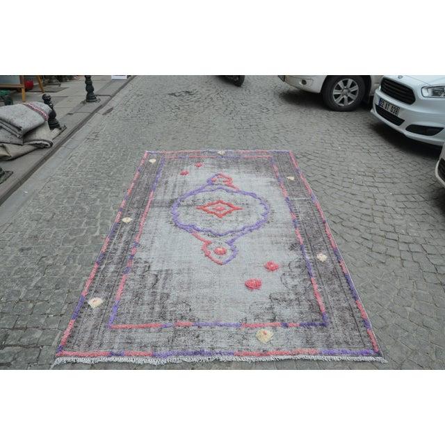 Handmade Turkish Oushak Rug - 5′6″ × 8′11″ - Image 2 of 6