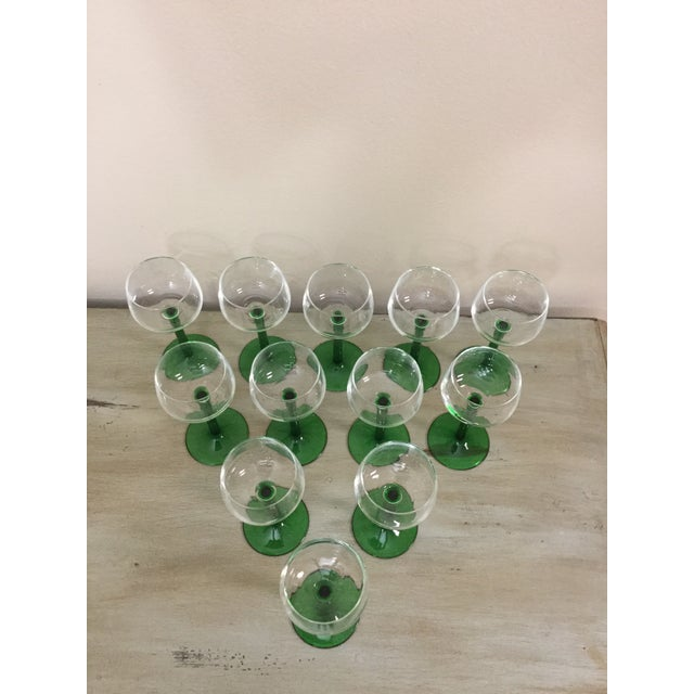 Glass 1960s Mid Century Cristal d'Arques Glasses - Set of 12 For Sale - Image 7 of 10