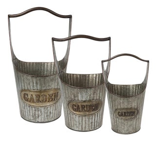 Garden Containers With Handles - Set of 3