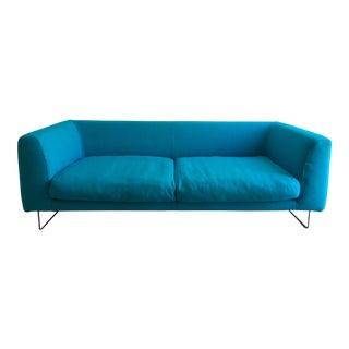 Modern Jasper Morrison for Cappellini Elan Turquoise Hallingdal Sofa