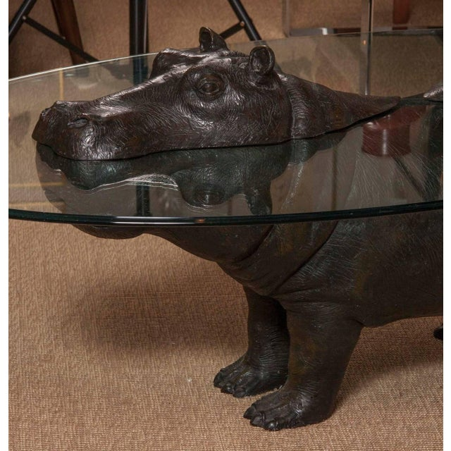 Hippo coffee table by renown contemporary Scottish designer Mark Stoddart. One of 99 made. Signed & dated 1998.
