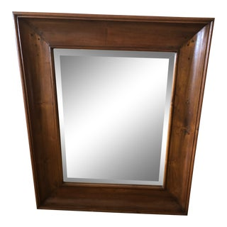 1960s Mahogany Rectangular Mirror For Sale