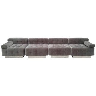 Harvey Probber Four-Piece Modular Sofa For Sale