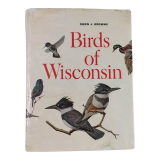 "1963 ""Birds of Wisconsin"" Book by Owen Gromme For Sale"