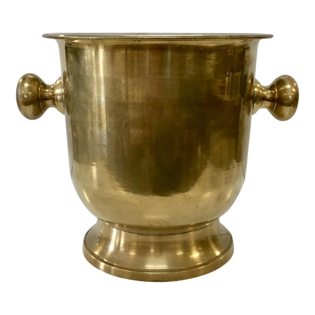 Brass Champagne Bucket - Image 1 of 6