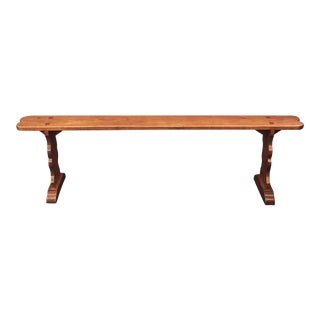 Large French Cherrywood Seating Benches, Individually Priced For Sale
