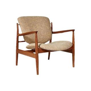 Finn Juhl Teak Danish Lounge Chair