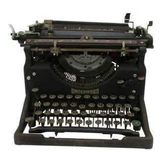 Antique Underwood Typewriter