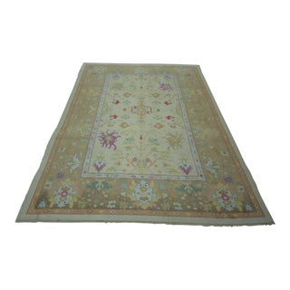 Turkish Anatolian Modern & Decorative Oushak Rug - 6′9″ × 10′1″