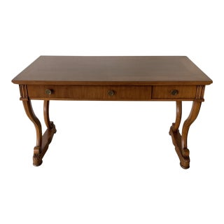 Traditional Fruitwood Writing Desk For Sale