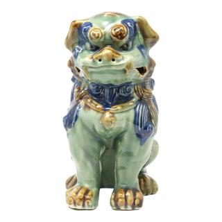 Vintage Hand-Dipped Ceramic Foo Dog