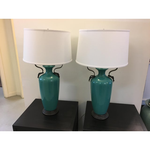 Vintage Frederick Cooper Lamps - A Pair - Image 2 of 5