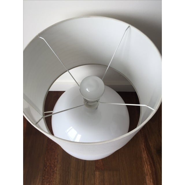 Modern White Lamp - Image 3 of 5