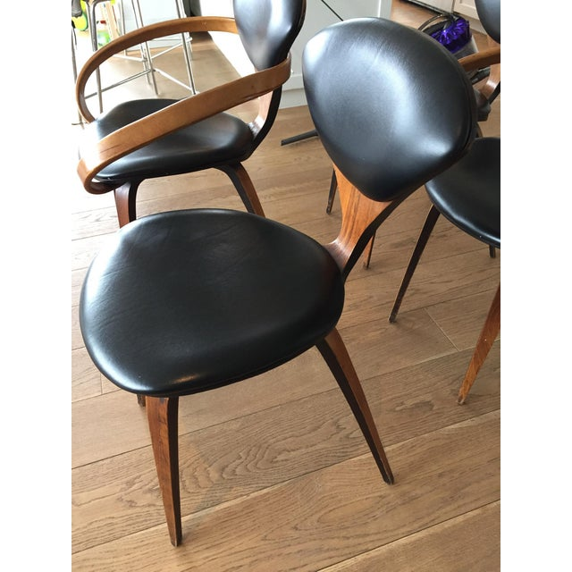 Norman Cherner Antique Chairs - Set of 4 - Image 5 of 11