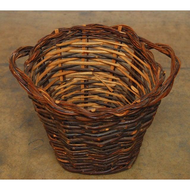French Vineyard Harvest Basket - Image 2 of 5