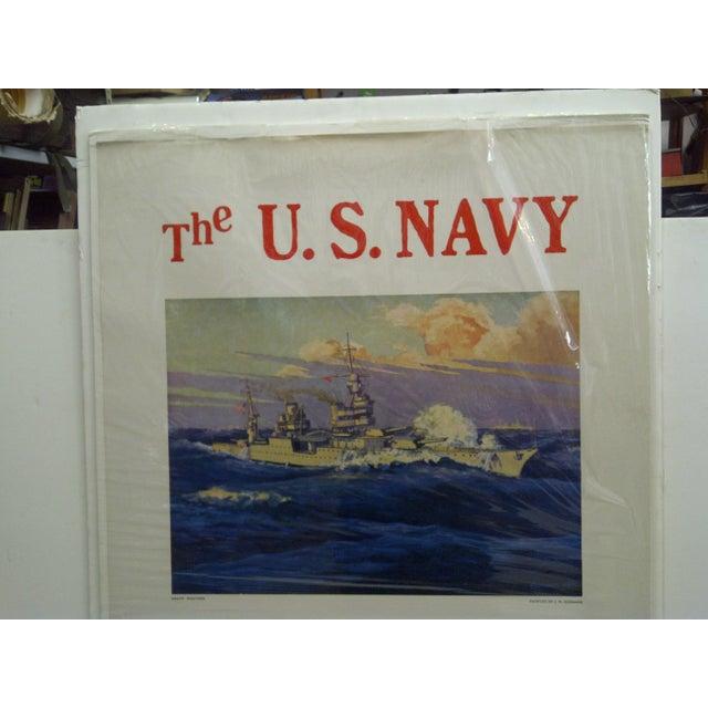 C 1930 U S Navy Recruiting Poster Chairish