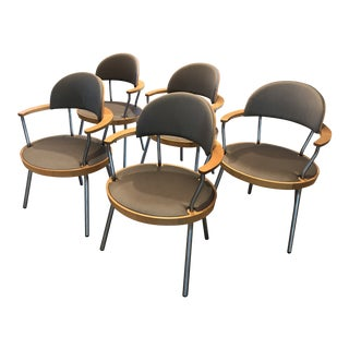Maya Lin Chairs - Set of 5 For Sale