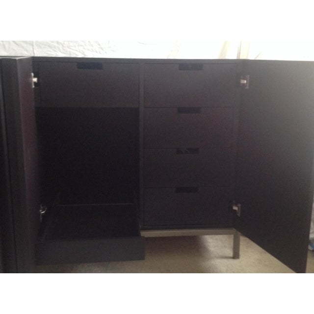 Hand Made Modern Credenza From Shelter LA - Image 5 of 7