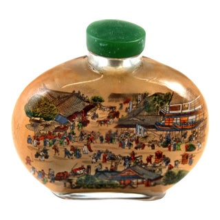 Crystal Chinese Snuff Bottle For Sale