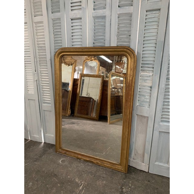 19th Century Grand Louis Philippe Mirror For Sale - Image 10 of 10