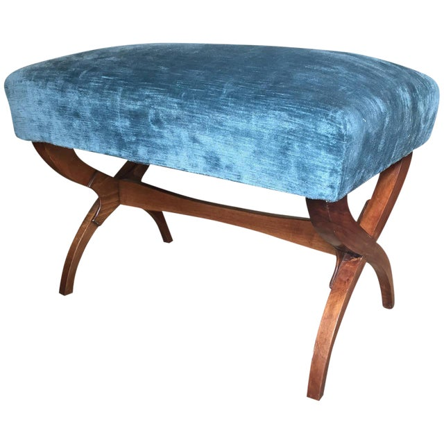 Exceptional Tomaso Buzzi Mahogany Bench For Sale