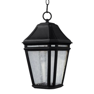 Transitional Black Small LED Pendant Stone For Sale