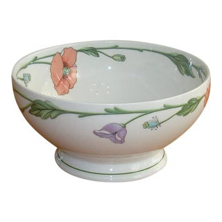 Round Amapola Vegetable Bowl by Villeroy & Boch For Sale