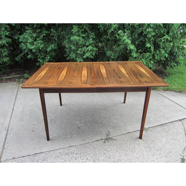 Westnofa Norway Mid-Century Brazilian Rosewood Dining Table - Image 3 of 7