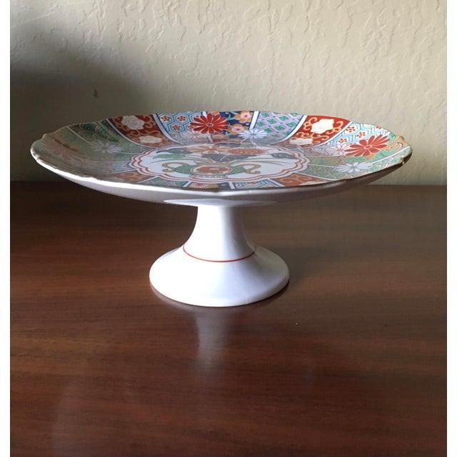 Asian Japanese Imari Porcelain Serving Dishes - Set of 3 For Sale - Image 3 of 13