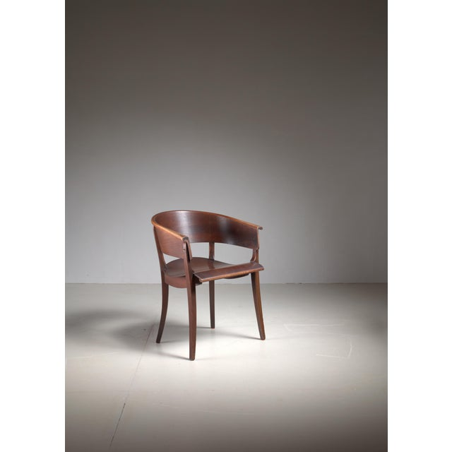 Ernst Rockhausen Bauhaus Style Plywood and Oak Chair, Germany, circa 1928 For Sale - Image 9 of 9