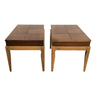 Drexel Casa Del Sol Mid-Century End Tables - A Pair
